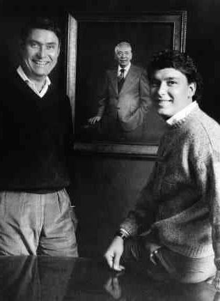 沃尔特·特雷柏董事长和儿子,埃里克·特雷柏总裁兼首席执行官