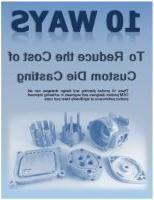 降低压铸件成本的10种方法